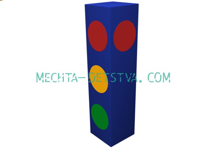 Мягкий модуль «Светофор» ДМФ-ЭЛК-03.04.01