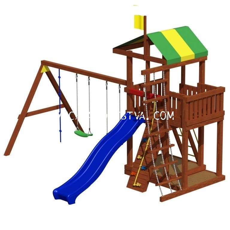 Детская площадка «Джунгли 9»